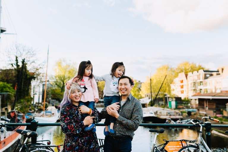 family photoshoot amsterdam vacation photographer